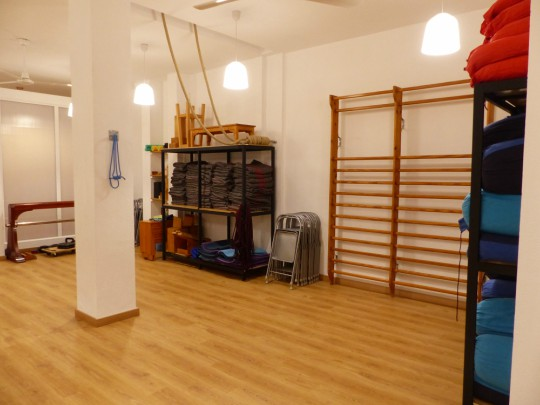 Centro de Yoga Iyengar, Abdón Nacarino